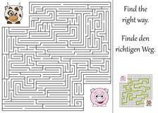 Trovi il giusto modo Immagine Stock Libera da Diritti
