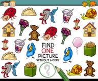 Trovi il singolo fumetto del gioco dell'immagine Fotografia Stock