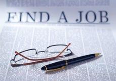 Trovi un job Immagini Stock