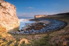 Trow Rocks sea bay Stock Photo