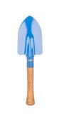 Trowel που απομονώνεται μπλε στο λευκό Στοκ Εικόνες