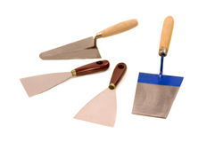 Trowel Royalty Free Stock Images
