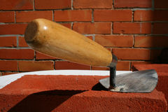 The trowel. Stock Images
