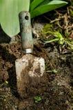 Trowel di giardino Immagini Stock Libere da Diritti