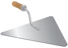 Trowel - a tool of the mason Stock Image