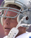 Troy Aikman. Dallas Cowboys QB Troy Aikman, #8. (Image from a color slide Stock Image