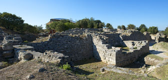 Free Troy Archeology Site In Turkey, Ancient Ruins Royalty Free Stock Images - 26956759