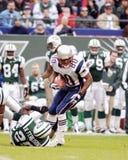 Troy Brown New England Patriots Fotos de archivo libres de regalías