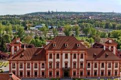 Troy Castle en Praga Imagen de archivo