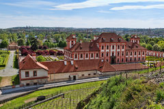 Troy castle Trojsky zamek, Prague.  Stock Photos