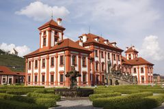 Troy Chateau in Prague Royalty Free Stock Photography