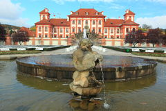 Troy chateau in Prague Stock Photography