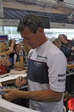 Troy corser signing autographs for fans royalty free stock images