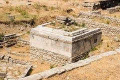 troy forntida stad royaltyfri fotografi