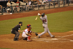 Troy Glaus, Atlanta Braves lizenzfreie stockfotos