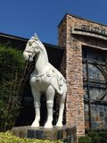 Troy Horse royalty free stock photo