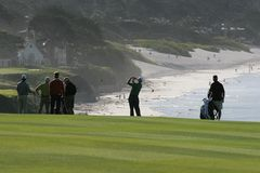 Troy Matteson, Pebble Beach 2006 Images libres de droits