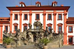 troy Prague pałacu Zdjęcie Stock