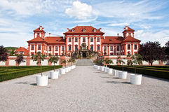Troya castle in Prague Royalty Free Stock Photography