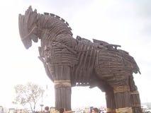 Troyan häst Arkivfoton