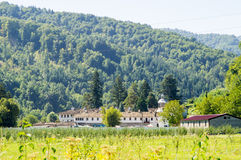 Troyan Monastery at the foot of the Balkans in Bulgaria Royalty Free Stock Photos