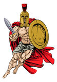 Troyano o espartano Fotografía de archivo