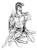 Troyano o espartano libre illustration