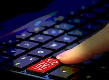 Troyano oscuro del ransomware del malware del virus de la web del ataque mal?volo del ordenador imagen de archivo
