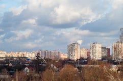Troyeshchina, Kyiv, Ukraine Images libres de droits