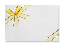 Trozo de papel Foto de archivo libre de regalías
