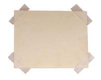 Trozo de papel sucio Fotografía de archivo
