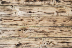 Träplankabakgrund Arkivfoto