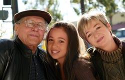 Três gerações Imagem de Stock Royalty Free
