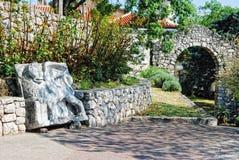 Trsat Castle in Rijeka Croatia - Gradina Stock Image