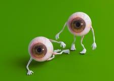 tröttade ögon Arkivfoto