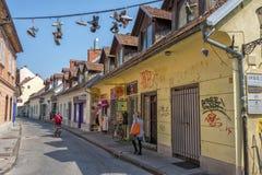 Trubarjeva Cesta, Ljubljana Images stock