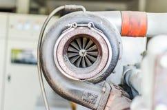Trubo en acier sale pour le moteur de générateur Photos libres de droits