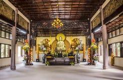 Truc Lam Pagoda image stock