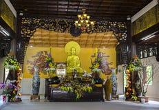 Truc Lam Pagoda Stockfotos
