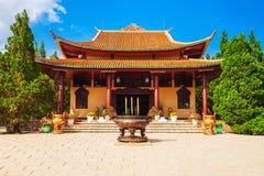 Truc Lam Temple dans Dalat photographie stock