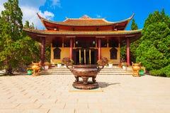 Truc Lam Temple dans Dalat photos stock