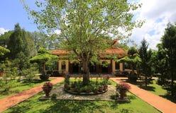 Truc Lam Zen Monastery image libre de droits