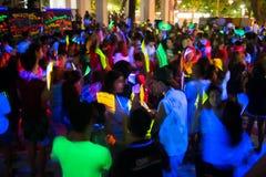 Trucchi ballanti nel colore giallo Fotografie Stock Libere da Diritti