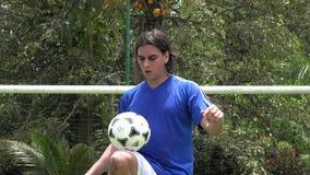Trucchi di calcio, abilità, professionista, sport stock footage