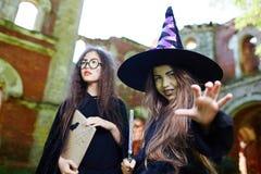 Trucchi di Halloween Fotografia Stock