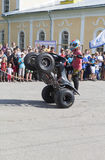 Trucchi su un ATV da Thomas Kalinin Fotografia Stock