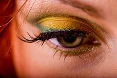 Trucco dell'occhio Fotografie Stock Libere da Diritti