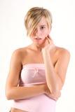 Trucco della femmina di modo Fotografia Stock Libera da Diritti