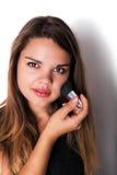 Trucco estetica Base per trucco perfetto di Make-up Fotografia Stock Libera da Diritti