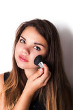 Trucco estetica Base per trucco perfetto di Make-up Immagini Stock Libere da Diritti